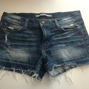 Joe's Jeans Phoebe Cut Off Shorts